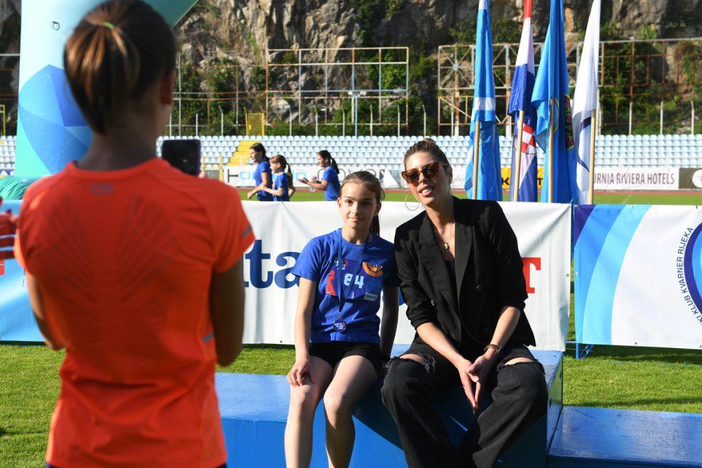 Ambasadorica Erste Plave Lige Blanka Vlašić  / Foto: Pro SportRenato Branđolica