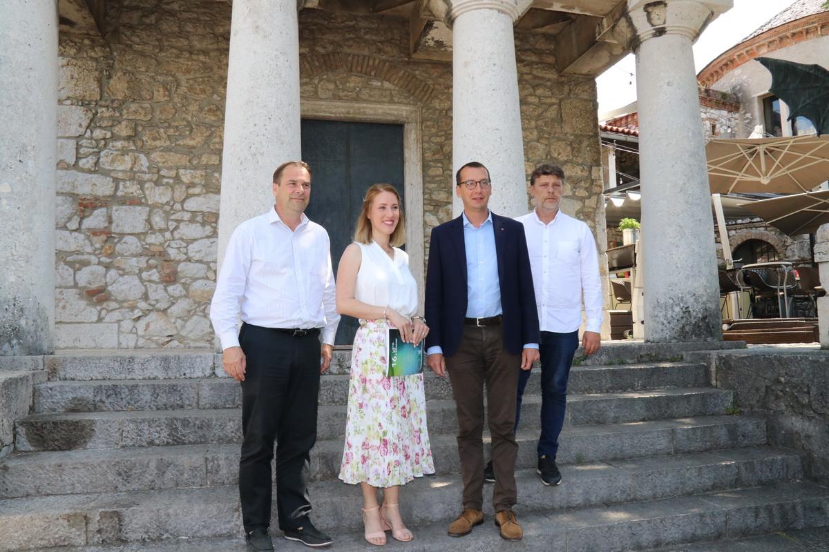 Petar Škarpa, Petra Peloza Vuherer, Marko Filipović i Ante Žeželj