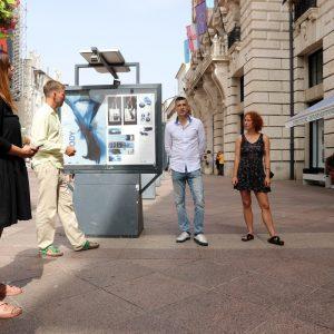 Otvorenje izložbe studentskih vizualnih rješenja za ovogodišnji Međunarodni studentski filmski festival - STIFF