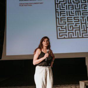 Dora Slakoper na otvorenju LFF-a / Foto: Tanja Kanazir