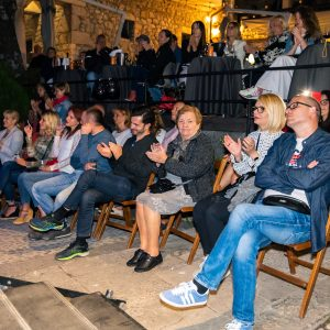 Oduševljena riječka publika / Foto press Ljeto na Gradini