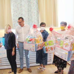 Obilazak novouređenog prostora za smještaj djece jasličke dobi u OŠ Kozala