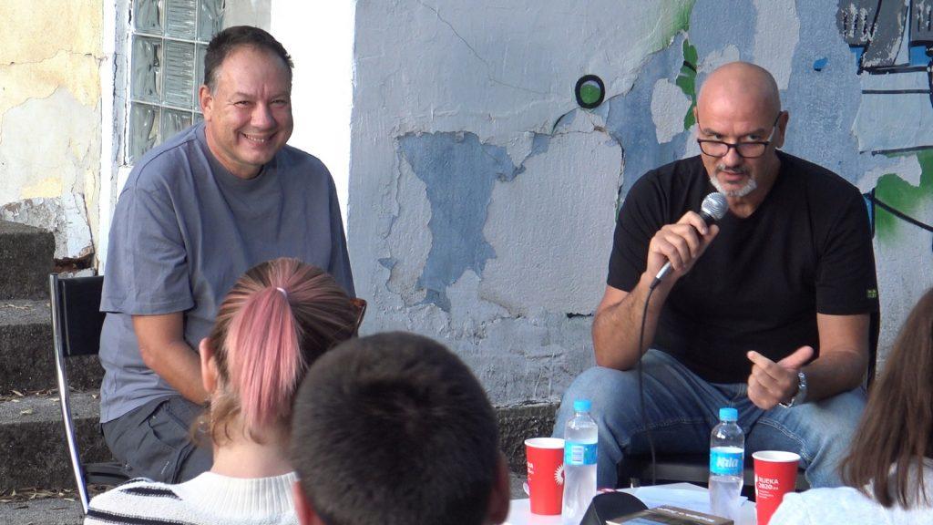 Jurica Pavičić i Zoran Žmirić