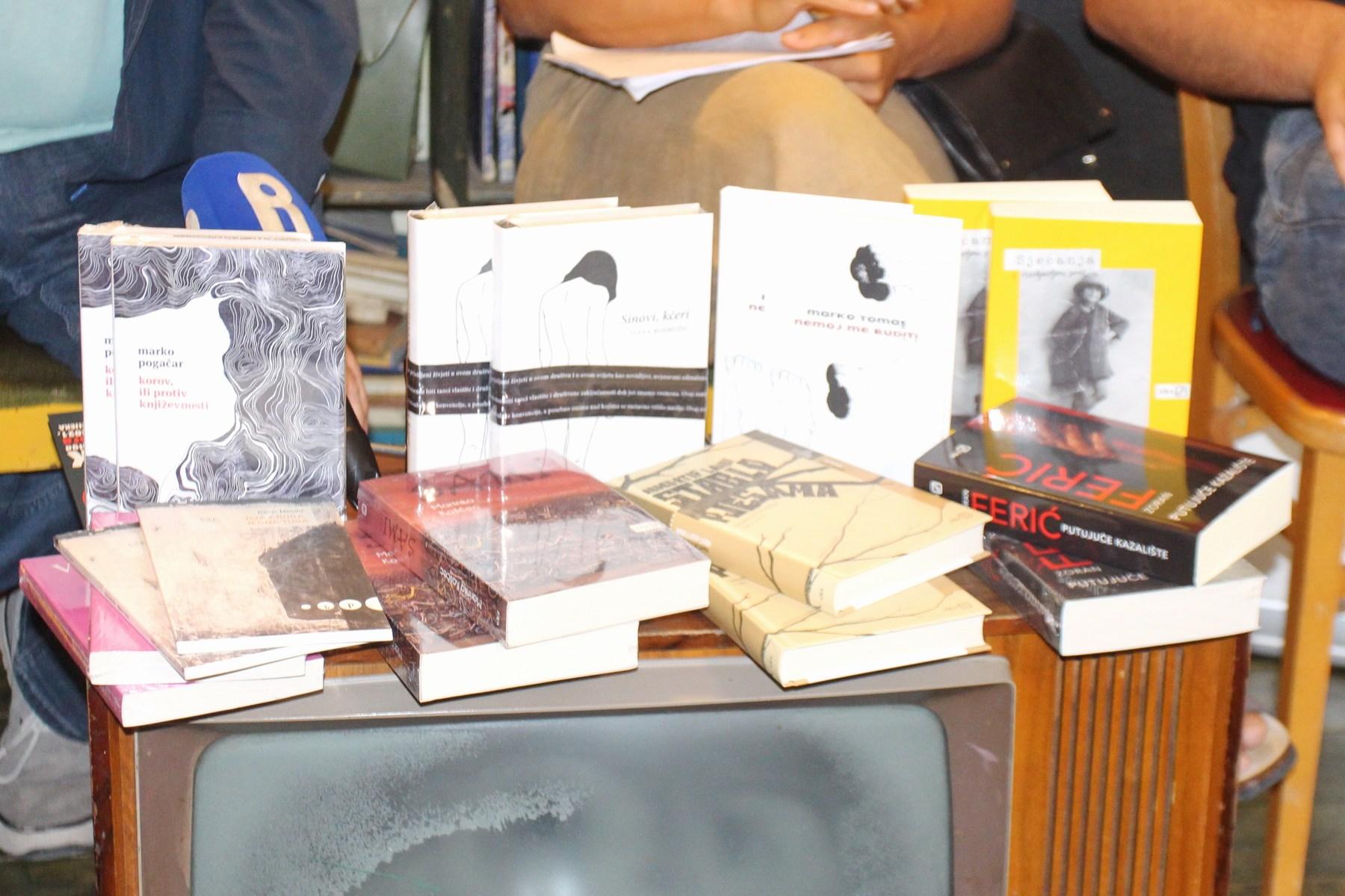 Najava 14. festivala knjiga Vrisak