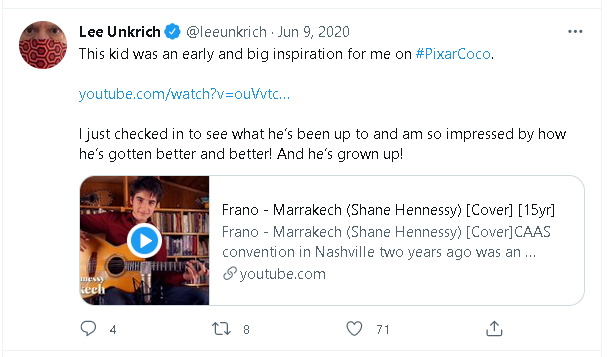 Frano Živković kao inspiracija za Pixarov crtani Coco