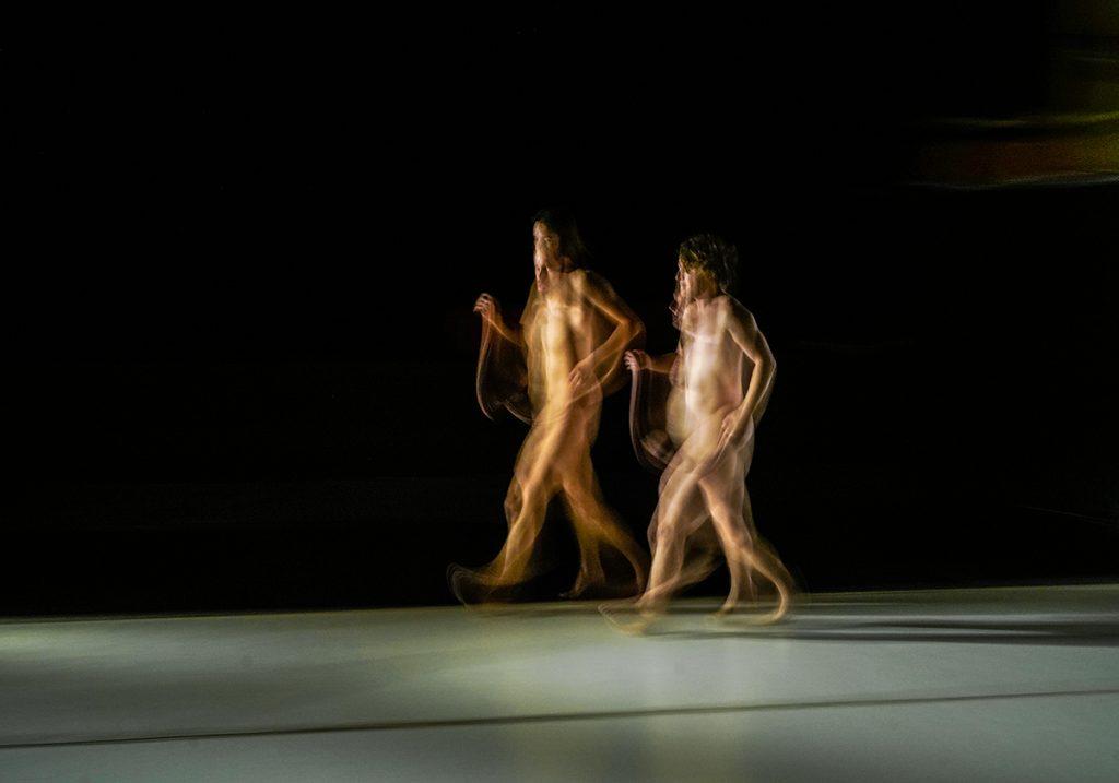 Mjesečina, predstava Aleksandra Georgieva i Daría Bardama - foto Sasho N. Alushevski