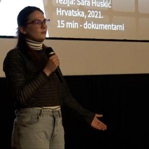 Sara Huskić, autorica filma Japanski premijeri